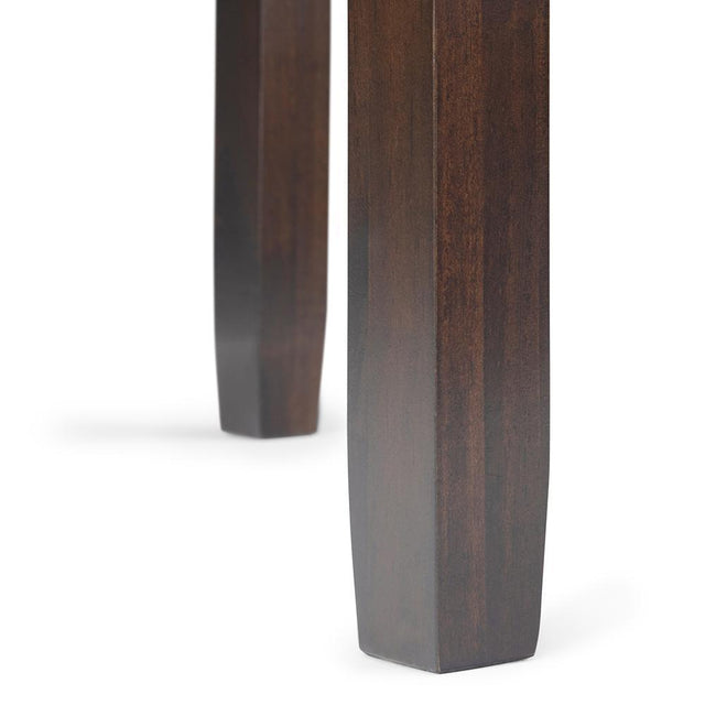 Load image into Gallery viewer, Mahogany Brown | Cosmopolitan Narrow Side Table