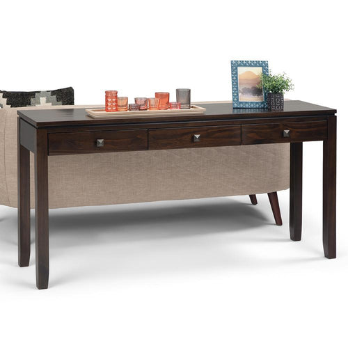 Mahogany Brown | Cosmopolitan Wide Console Sofa Table
