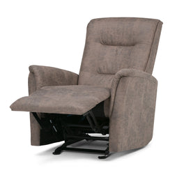 Percy Faux Leather Glider Recliner