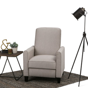 Corey Fabric Push Arm Recliner