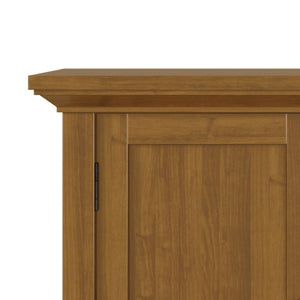 Light Golden Brown | Redmond 32 inch Low Storage Cabinet