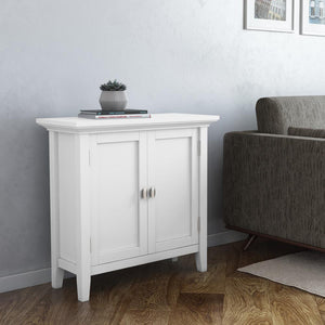 White | Redmond 32 inch Low Storage Cabinet