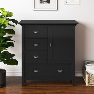 Black | Redmond 39 inch Medium Storage Cabinet