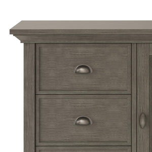 Farmhouse Grey | Redmond 39 inch Medium Storage Cabinet