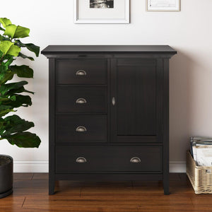 Hickory Brown | Redmond 39 inch Medium Storage Cabinet