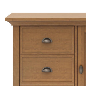 Light Golden Brown | Redmond 39 inch Medium Storage Cabinet