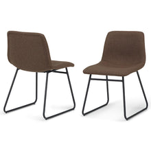 Load image into Gallery viewer, Brown | Ridley Dining Chair (Set of 2)