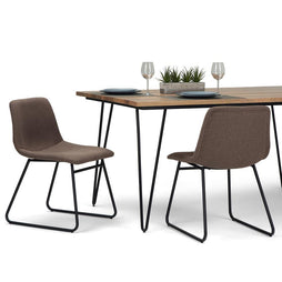 Brown | Ridley Dining Chair (Set of 2)