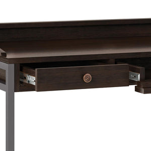 Distressed Hickory Brown | Ralston Solid Acacia Desk