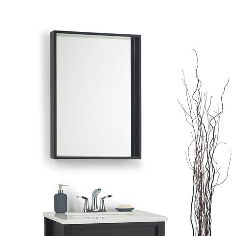 Dark Walnut | 22-x-30 inch Russo Mirror