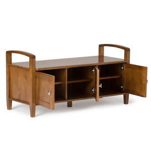 Warm Shaker 44 inch Entryway Bench