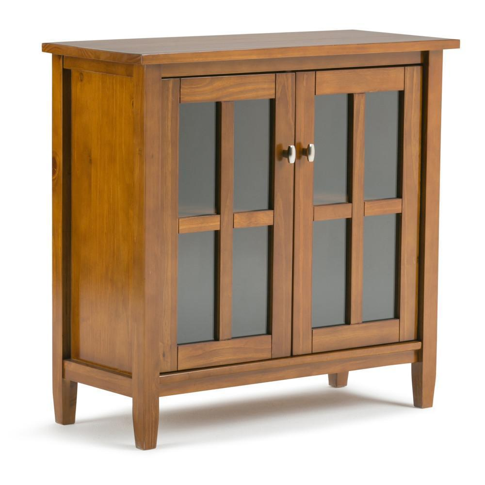 Warm Shaker 32 inch Low Storage Cabinet