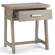 Load image into Gallery viewer, Distressed Grey | Sawhorse Bedside Table