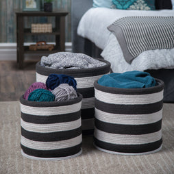 Anton 3 Pc Nesting Storage Basket Set