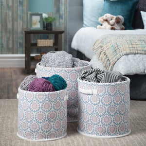 Carling 3 Pc Nesting Storage Basket Set