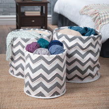 Load image into Gallery viewer, Keon 3 Pc Nesting Storage Basket Set