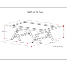 Load image into Gallery viewer, Sklar Coffee Table