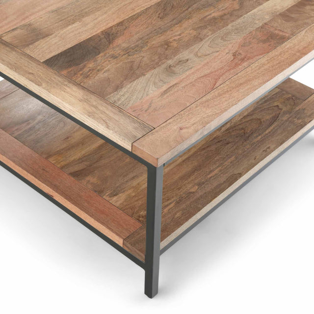 Load image into Gallery viewer, Natural | Skyler 34 inch Square Coffee Table