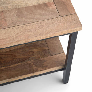 Natural | Skyler 34 inch Square Coffee Table