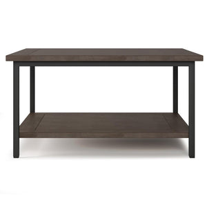 Walnut Brown | Skyler 34 inch Square Coffee Table