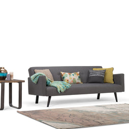 Graphite Grey | Morgan Linen Look Sofa Bed