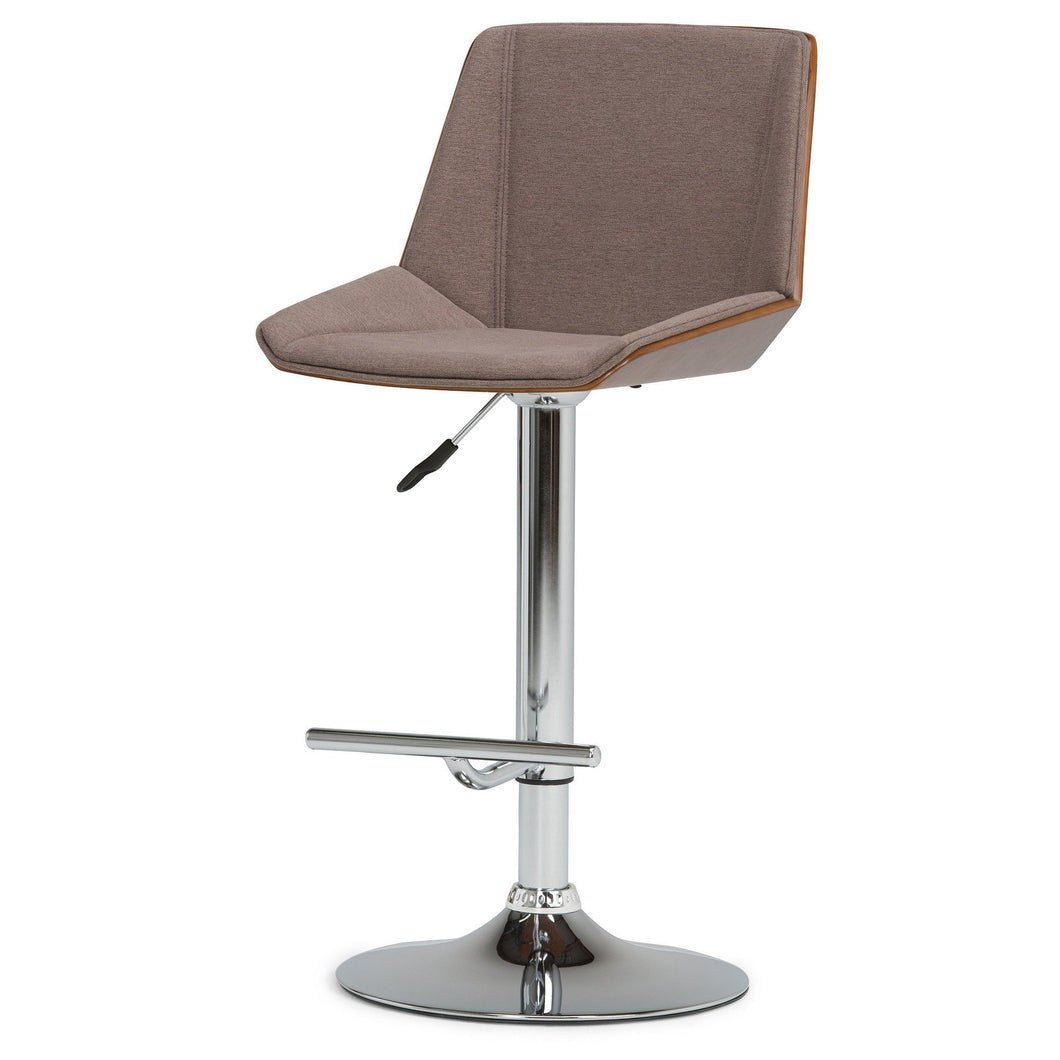 Tollson Bentwood Gas Lift Bar Stool