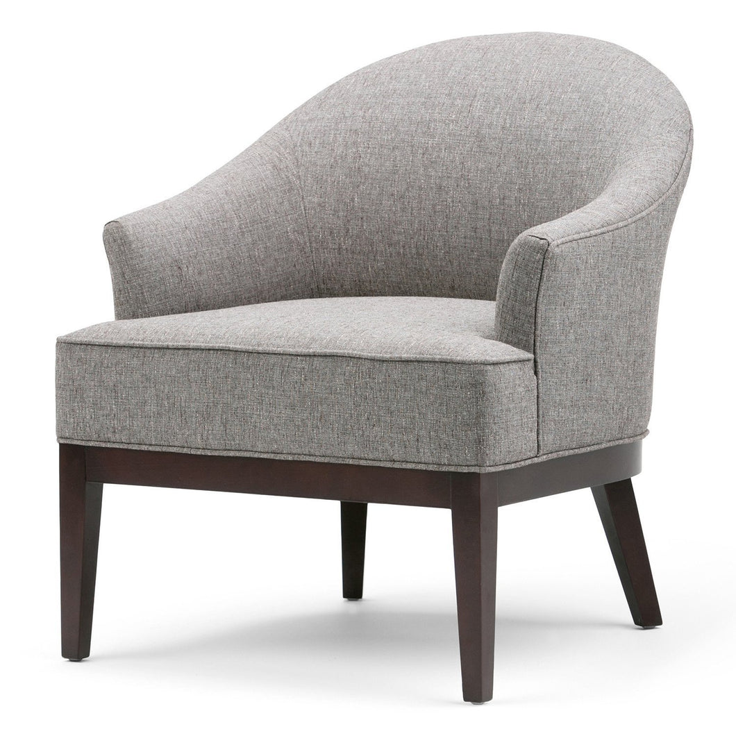 Slate Grey | Louise Linen Look Tub Chair