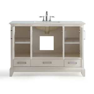 48 inch | Elise Off White Bath Vanity