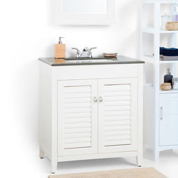 30 inch | Adele Off White Bath Vanity