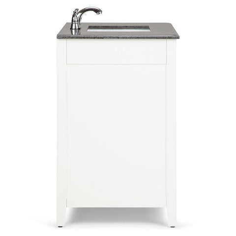 Center | Adele Soft White Bath Vanity