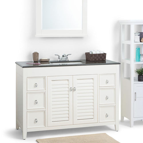 48 inch | Adele Soft White Bath Vanity