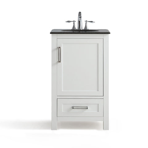 ... 20 Inch | Evan White Bath Vanity ...