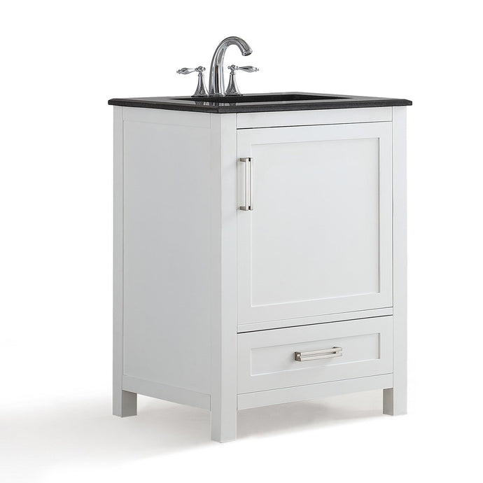 24 inch | Evan White Bath Vanity