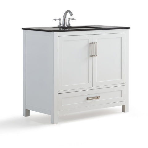 Evan White Bath Vanity