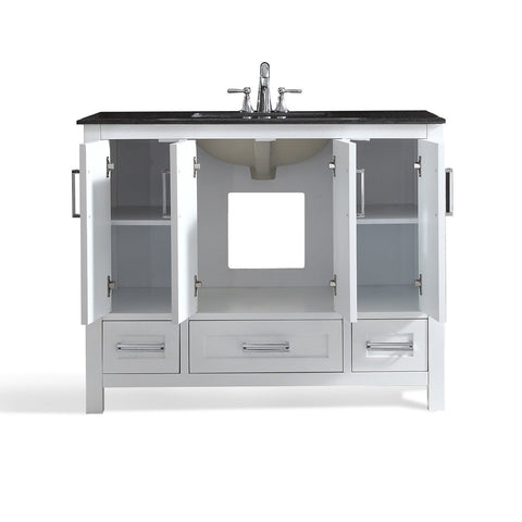 42 inch | Evan White Bath Vanity