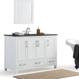 48 inch | Evan White Bath Vanity