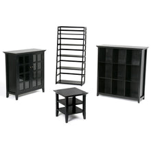 Load image into Gallery viewer, Black | Acadian Ladder Shelf Bookcase