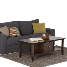 Load image into Gallery viewer, Brunette Brown | Acadian Coffee Table
