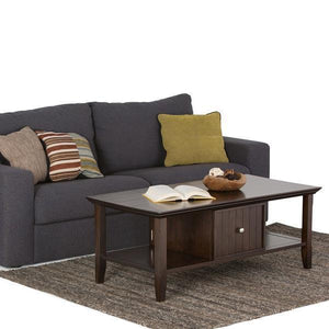 Brunette Brown | Acadian Coffee Table