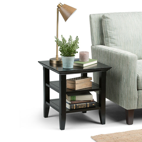Black | Acadian End Side Table