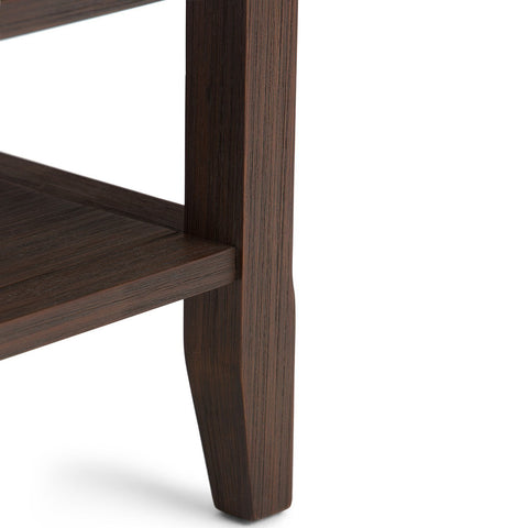 Farmhouse Brown | Acadian End Side Table