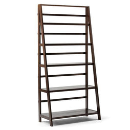Brunette Brown | Acadian 72 x 36 inch Wide Bookcase