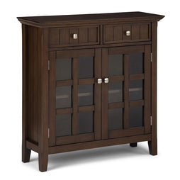 Natural Aged Brown | Acadian Entryway Storage Cabinet