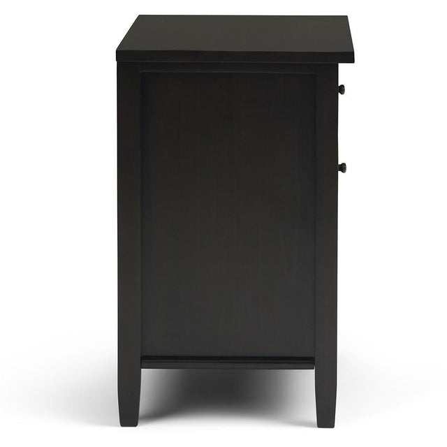 Load image into Gallery viewer, Dark Brown | Warm Shaker Bedside Table