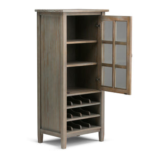 Warm Shaker 22.5 x 50 inch High Storage Wine Rack