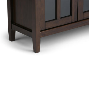 Tobacco Brown | Warm Shaker 32 inch Low Storage Cabinet