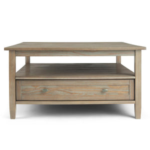 Warm Shaker Square Coffee Table