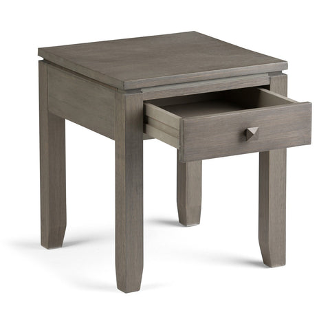 Farmhouse Grey | Cosmopolitan End Side Table