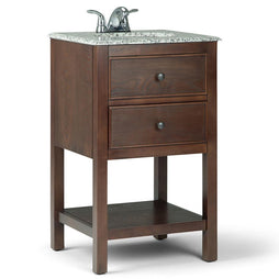 20 inch | Burnaby Walnut Brown Bath Vanity