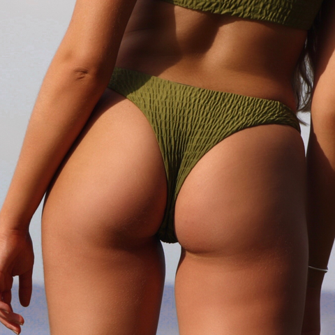 MALIBU BOTTOMS - OLIVE